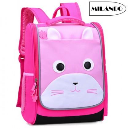 MILANDO Kid Children Korean Style Duffel School Bag Beg Sekolah Bags (Type 20: Bear)