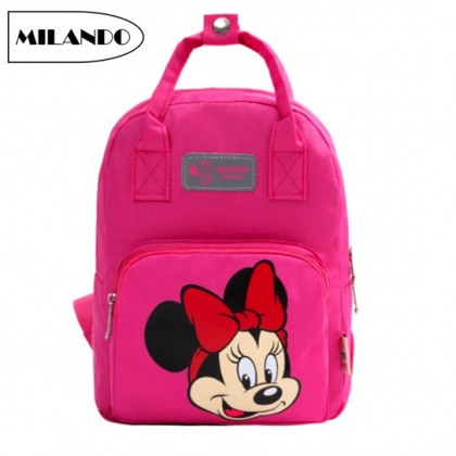 MILANDO Chilren Kid Duffel School Bag Backpack Kindergarten Bag Beg Sekolah Tadika Bags (Type 2)