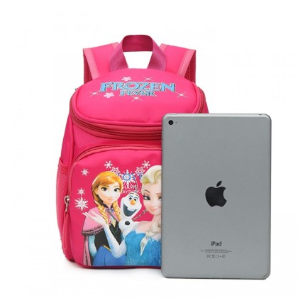 MILANDO Kid-frozen Duffel School Bag High Quality Backpack Kindergarten Bag Kid Children School GirlBeg Sekolah (Type 1)
