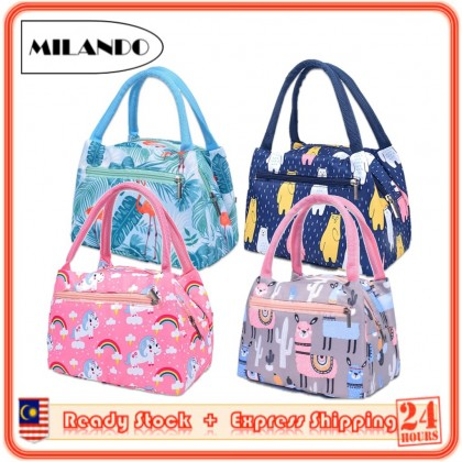 MILANDO Lunch Bag Insulation Insulator Bag Outdoor Waterproof Picnic Bag (Type 5)