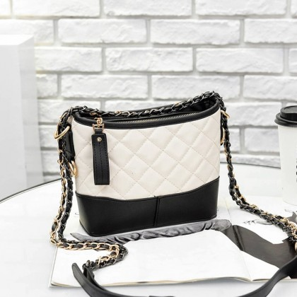 MILANDO Women Ladies Elegant Design PU Leather Dinner Handbag Cross Body Sling Bag Handbeg Wanita (Type 15)