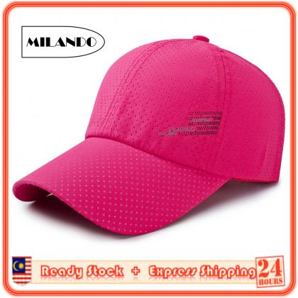 MILANDO Sun Baseball Hat Male Summer Sports Outdoor Sun Hat (Type17)