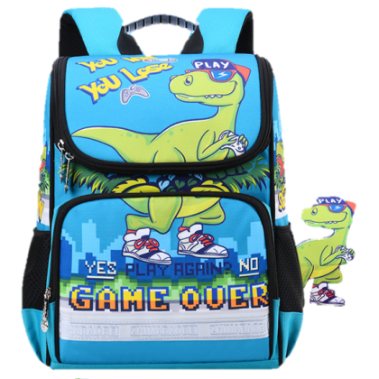 MILANDO Kid Children Big Capacity Duffel School Bag Shoulder Bag Backpack Beg Sekolah (Type 31)