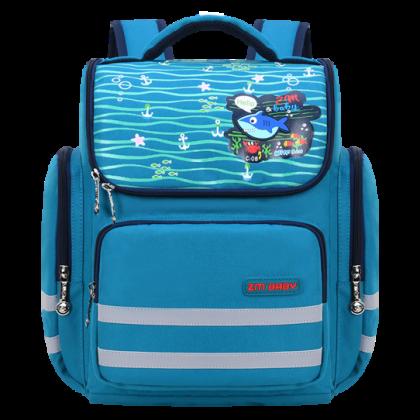 MILANDO Kid School Bag Cartoon Printed School Bag Backpack Begs Beg Sekolah (Type 33)