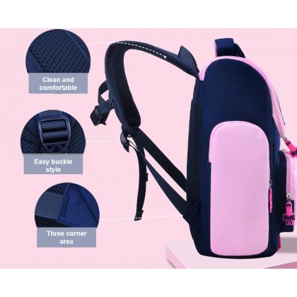 MILANDO Kids School Bag Cute Owl Cartoon School Bag Backpack Student Schoolbag Beg Sekolah (Type 34)