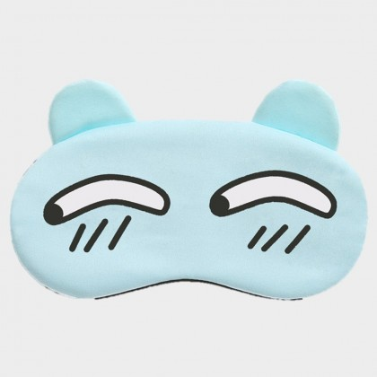 MILANDO Sleep Mask Pack Cute Gel Cartoon Cold Hot Sleeping Mask Soft with Adjustable Strap for Puffy Eyes,Dry Eyes,Insomnia,Migraines, Headaches Relief (Type 2)