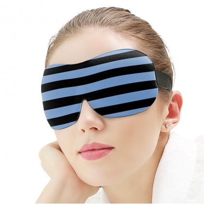 MILANDO Sleep Mask Eye 3D Stereoscopic Eye Protection Sleep Mask, Steamless Eye Mask, Quick Nap or Deep Sleep Comfortable for Women Men (Type 3)