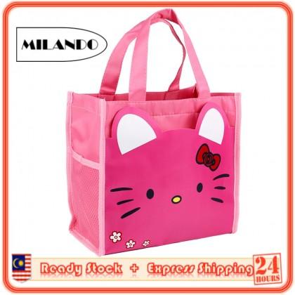 MILANDO Tuition Bag School Bag Tote Bag for Children Waterproof Bag Cartoon Design Beg Tusyen Kanak-Kanak (Type 8)
