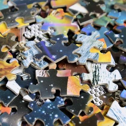 MILANDO Gudi 6602  Jigsaw Puzzle 1000 Pieces Children's Toy (Space Traveler)