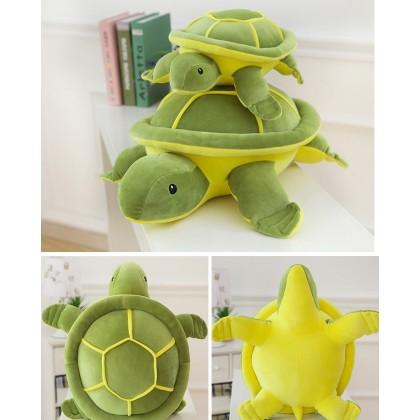 MILANDO Little Turtle Plush Toy Feather Cotton Soft Pillow Big-Eyed Turtle Doll (Type 6)