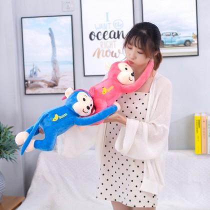 MILANDO Curtain Monkey Doll Long-Armed Monkey Hanging Monkey Strap Cartoon Plush Toy (Type 7)