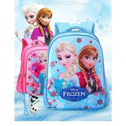 MILANDO Kid Children Bag 3D Cartoon Printed School Bag Backpack Kindergarten Bag