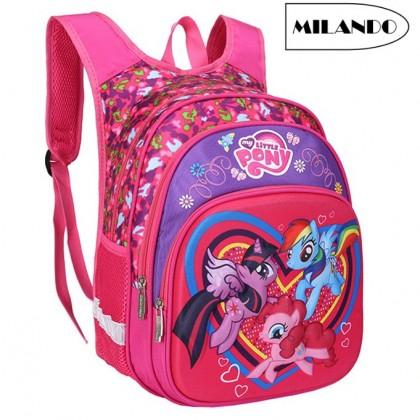MY Little Pony Kid School Backpack Kindergarten Bag Bags Beg Sekolah (Type 3)