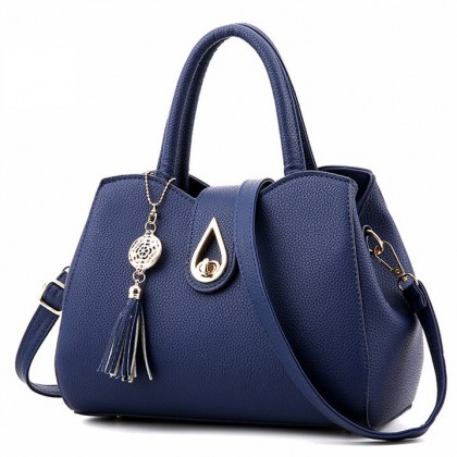 MILANDO Ladies Women PU Leather Handbag Tote Sling Bag Handbeg Beg Wanita (T.9)