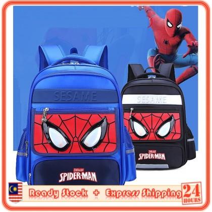 MILANDO Kid Boy Spiderman Children School Bag Backpack Beg Sekolah Bags (Type 2)