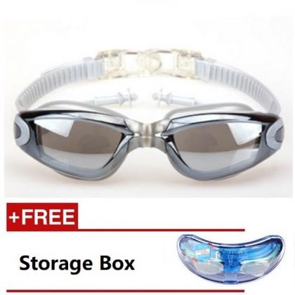 MILANDO Sport Swim Goggle Adult Swimming Goggles with Anti Fog Technology T2