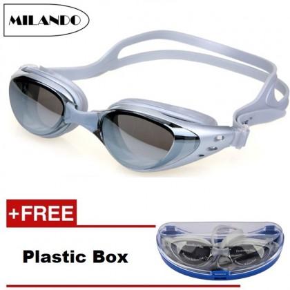 MILANDO Sport Swim Goggle Adult Swimming Goggles with Anti Fog Technology